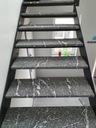 Лестницы, ступени гранитные, металлическая конструкция