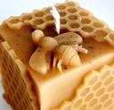świeca z naturalny wosk pszczeli eko podziękowanie Materiał wosk pszczeli