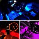 OŚWIETLENIE WNĘTRZA AUTA kabiny samochodu RGB LED Producent części Inny