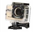 OKAZJA Kamera sportowa Salora PSC1335HD Porządna Cechy dodatkowe port USB mikrofon wstrząsoodporność wodoszczelność