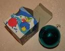 BOMBKA polska stara ozdoba świąteczna Oryg pudełko
