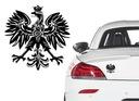 Naklejka na samochód Orzeł Godło Polska