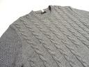 Sweter męski RIVER ISLAND XXL Kolor szary, srebrny
