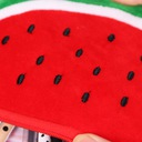 Piórnik Arbuz pluszowy owoc JEDNOKOMOROWY saszetka Marka Inna