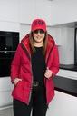 Cavaricci SPORTOWA kurtka PLUS SIZE pikowana 2XL Cechy dodatkowe jednorzędowy pikowanie z podszewką ocieplenie