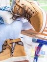 Trapery obuwie ocieplane Buty Zimowe Śniegowce Długość wkładki 21 cm