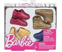 Mattel BARBIE -Modne BUTY dla kena 4 pary