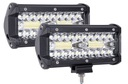 Zestaw 2 x Halogen lampa robocza LED - 120W 10-48V