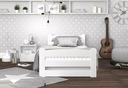 Łóżko DAWID 90x200 podnoszone automat + materac Kolor mebla Biały