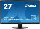 "Monitor Iiyama X2783HSU-B3 27"" Kod producenta X2783HSU-B3"