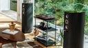 Jamo D590 Anniversary Special Edition Kolumny Konstrukcja trójdrożne bass-reflex