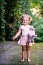 Zestaw dla dziewczynki szorty bluzka HIT 110 Rozmiar 110