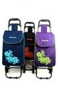 Wózek na zakupy torba na kółkach zakupowy Kwiat-S