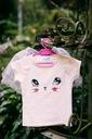 Zestaw dla dziewczynki kotek tiul lato różowa 90 Wiek dziecka 2 lata +