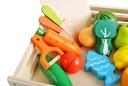 Drewniane Warzywa Owoce do Krojenia na Magnes XXL Płeć Chłopcy Dziewczynki