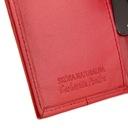 Skórzany portfel damski duży Garbarnia Praska Wzór dominujący bez wzoru