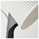 лампа лампа на рабочий стол бело серая