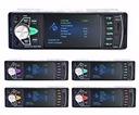 RADIO 1DIN EKRAN 4,1 +KAMERA COFANIA USB BT MP3 SD Złącza AUX RCA Pre-out (przedwzmacniacz) RCA Sub-out (subwoofer) USB