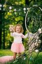 Zestaw dla dziewczynki spódniczka tiul cudo lato