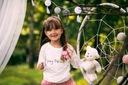 Zestaw dla dziewczynki spódniczka tiul cudo lato Długość przed kolano