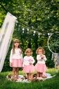 Zestaw dla dziewczynki spódniczka tiul cudo lato Rozmiar 130