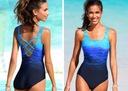 MONOKINI strój CIENIOWANY kostium kąpielowy M 38 Płeć Produkt damski