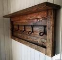 Wieszak rustykalny stare drewno rustick loft Kolor mebla Wielokolorowy