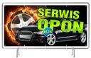 Solidny Baner reklamowy 3x1m Wulkanizacja OPONY EAN 9876821188132