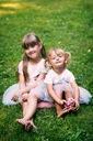 Zestaw dla dziewczynki kotek tiul lato różowa 130 Rękaw Krótki rękaw