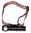 LATARKA CZOŁOWA KĄTOWA TAKTYCZNA USB CZOŁÓWKA Źródło światła LED