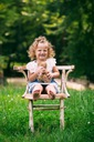Sukienka Lato Wiosna jeans dziewczynka PSYTUL Długość przed kolano