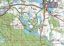 MAPA TURYSTYCZNA POWIAT DRAWSKI 3D GPS 1:100 000 Typ mapa