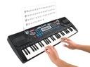Duże Organy Keyboard Pianino do Nauki 54 Mikrofon EAN 5902802910134