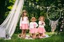 Zestaw dla dziewczynki spódniczka tiul cudo lato Płeć Dziewczynki