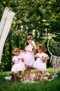 Zestaw dla dziewczynki kotek tiul lato różowa 110 Płeć Dziewczynki