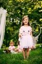 Zestaw dla dziewczynki kotek tiul lato różowa 90