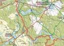 MAPA TURYSTYCZNA POWIAT DRAWSKI 3D GPS 1:100 000 Wydawnictwo EKO-MAP