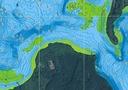 MAPA BATYMETRYCZNA JEZIORO WOŚWIN 1:15.000 GPS 3D Okładka miękka