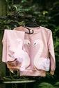 Dres dla dziewczynki różowy łabędź 110 Rozmiar 110