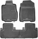 Honda CR-V 2012- Dywaniki gumowe + bagażnik Liczba elementów Komplety