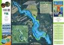 MAPA BATYMETRYCZNA JEZIORO WOŚWIN 1:15.000 GPS 3D Rok wydania 2019