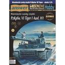Ответ 5/07 Немецкий танк TIGER I Ausf.H1 1:25 доставка товаров из Польши и Allegro на русском