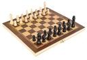 Klasyczne SZACHY drewniane gra w PUDEŁKU etui Czas rozgrywki Dłuższy niż 2 godziny