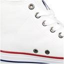 Trampki Big Star męskie białe DD174251 wysokie 43 Kolor biały