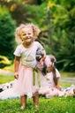 Zestaw dziewczynka spódniczka tiul lato różowa Płeć Dziewczynki