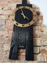 Zegar VIP2 drewniany duży 40x80cm loft rustykalny Waga (z opakowaniem) 5 kg