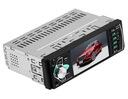 RADIO 1DIN EKRAN 4,1 +KAMERA COFANIA USB BT MP3 SD Odtwarzane formaty plików .aac .ape .flac .mp3 .wav .wma