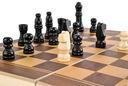 Klasyczne SZACHY drewniane gra w PUDEŁKU etui Minimalna liczba graczy 2
