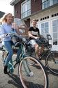 Fotelik rowerowy BOBIKE ONE Mini niebieski + SZYBA Kolor dominujący niebieski