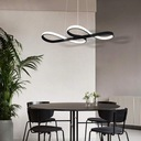 Lampa Żyrandol LED Spirala Nowoczesna 47W Pilot Kolekcja 11E02000007